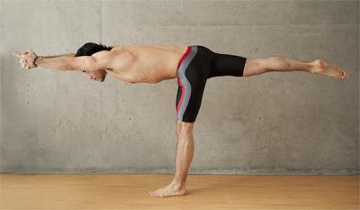balancing stick pose tulandandasana  hot yoga 101