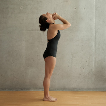 pranayama standing deep breathing  hot yoga 101